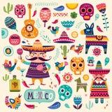 Mexican symbols Stock Photos