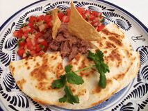 Mexican Synchronizadas Dinner Royalty Free Stock Photography