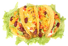 Mexican tacos Stock Image
