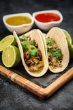Mexican tacos with beef Stock Photography