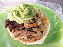 Mexican tacos - beef taco Royalty Free Stock Photography