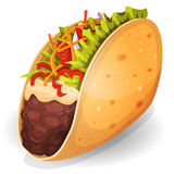 Mexican Tacos Icon Royalty Free Stock Image