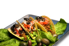 Mexican tacos,isolated royalty free stock photo