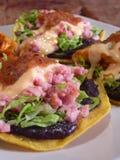 Mexican tacos quesadillas Royalty Free Stock Photo