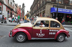 Mexican Taxi Royalty Free Stock Photography