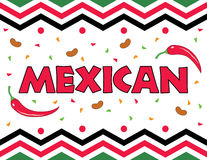 Mexican Theme Background Royalty Free Stock Photos