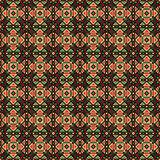 Mexican themed traditional aztec style pattern Royalty Free Stock Photo