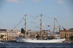 Mexican three-masted barque Cuauhtemoc Stock Photos