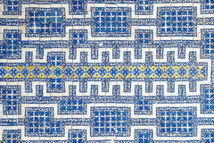 Mexican tile background Stock Images