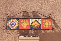 Mexican tile decoration Royalty Free Stock Photography