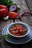 Mexican  tomato salsa sauce Stock Image