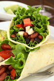 Mexican Tortilla Wrap Royalty Free Stock Image