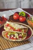 Mexican tortilla wrap Royalty Free Stock Photos