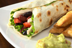 Mexican Tortilla Wrap Stock Image