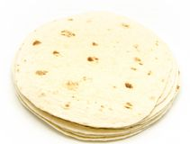 Mexican tortillas Royalty Free Stock Photo