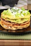 Mexican tostada ahogada Stock Photo