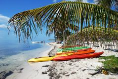 Mexican Town Beach Stock Images