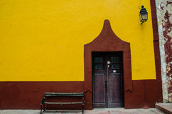 Mexican town Royalty Free Stock Photos