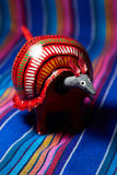 Mexican Toy armadillo Royalty Free Stock Image