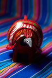 Mexican Toy armadillo Stock Photography