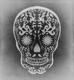 Mexican traditional skull candy illustration Stock Photo