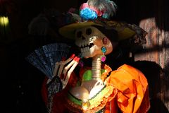 Mexican traditions. & x22;día de muertos& x22; the most beautiful tradition in Mexico Stock Image