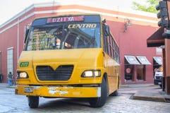 Mexican urban bus Stock Photo