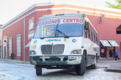 Mexican urban bus Royalty Free Stock Images