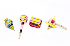 Mexican variety of toys. Mexican variety of wooden toys Stock Image