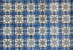 Mexican vintage tiles, nice background Stock Photos
