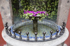 Mexican water fountain Royalty Free Stock Photography
