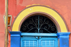 Mexican Window. A colorful window taken in Tuxtla Gutierrez, Mexico Royalty Free Stock Image
