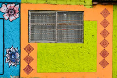 Mexican Window. A window taken in Tuxtla Gutierrez, Mexico Royalty Free Stock Images