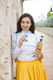 Mexican woman Stock Image