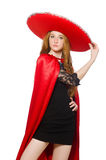 Mexican woman Royalty Free Stock Image