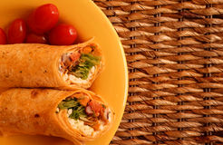 Mexican Wraps Stock Photo