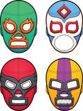 Mexican wrestling maks Royalty Free Stock Image