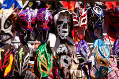 Mexican wrestling masks Royalty Free Stock Photo