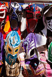 Mexican wrestling masks Royalty Free Stock Photos