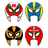 Mexican wrestling masks Royalty Free Stock Photography