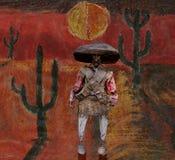 Mexicana del noche del La Imagen de archivo