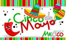 Mexicano Cinco de Mayo Fotografía de archivo libre de regalías