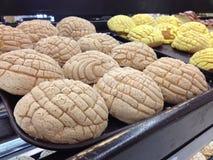 ` Mexicano del concha del ` del pan Fotografía de archivo