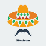Mexicano del vector Foto de archivo libre de regalías