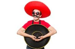 Mexicano divertido Fotografía de archivo