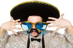 Mexicano engraçado Fotografia de Stock Royalty Free