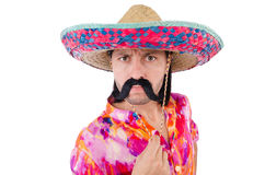 Mexicano engraçado Fotos de Stock