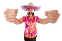 Mexicano engraçado Imagem de Stock