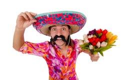 Mexicano engraçado Imagem de Stock Royalty Free