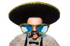 Mexicano engraçado Fotografia de Stock